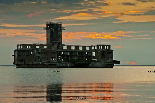 poland polska gdynia trójmiasto babie doły wschód słońca sunrise zatoka gdańska bałtyk morze