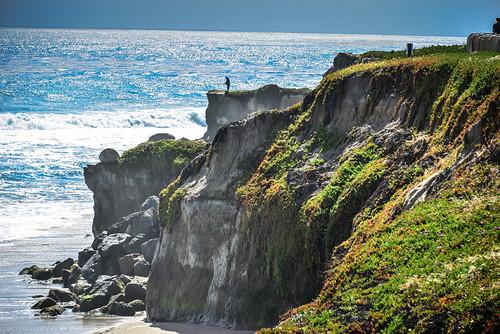 ocean california park santa ca cliff santacruz lighthouse beach water drive bay us unitedstates state pacific boulder cliffs calif boulders cal cruz parc along ilobsterit
