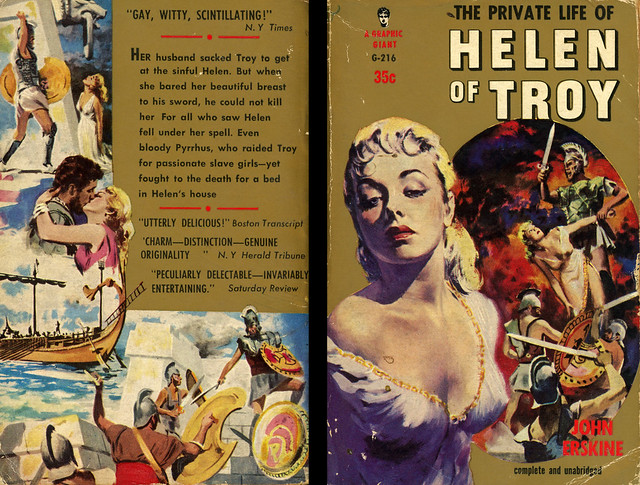 Graphic Books G-216 - John Erskine - The Private Life of Helen of Troy (with back)