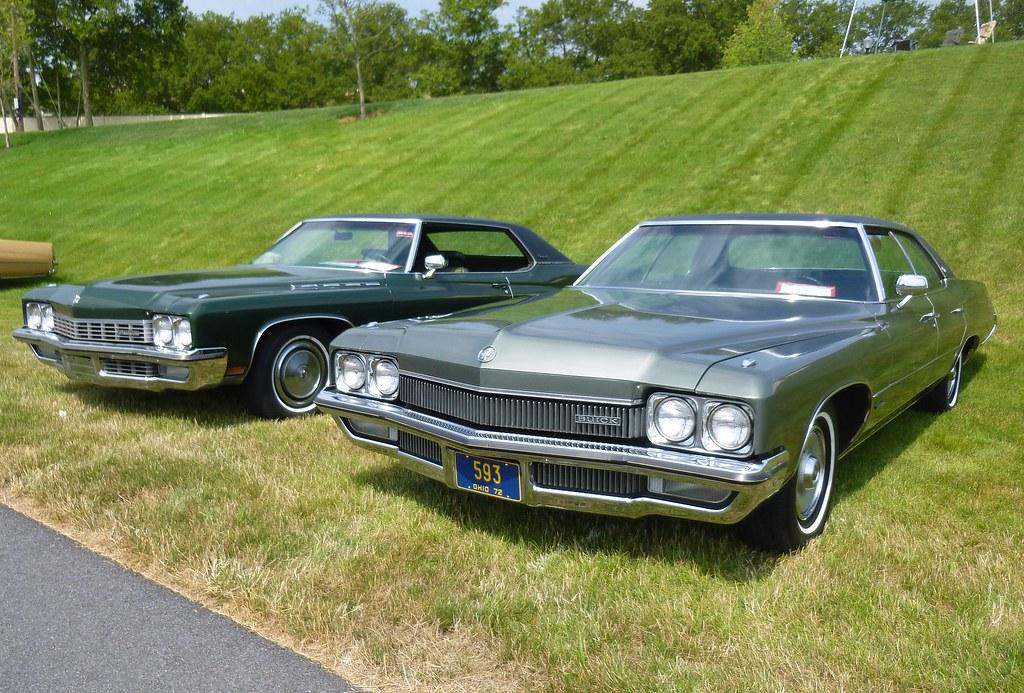 1972 Buicks at the BCA 50th Anniversary