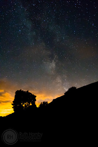 Milky Way over The Brecon Beacons | by Ruthie H