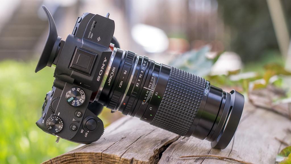 sony lens manual