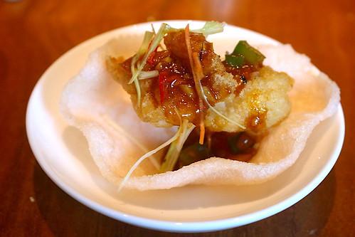 Deep-fried snapper   by Camemberu