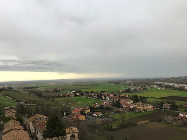 The View From Torrechiara Castle - Emilia Romagna