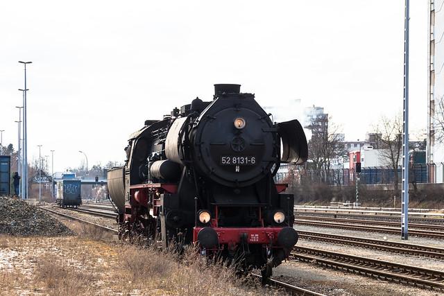 Dampflokfahrt Industriebahnen im Süden Berlins