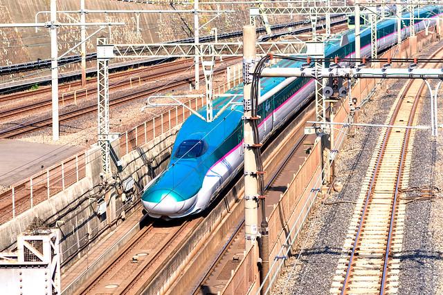 """Shinkansen E 5 series train """"Hayabusa"""""""