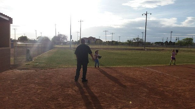 Daddy and me practice