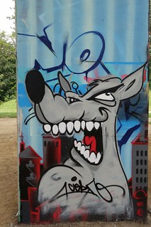 Graffiti/streetart at Neerpede (Belgium) | by @necDOT