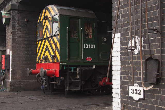 D3101 Loughborough shed