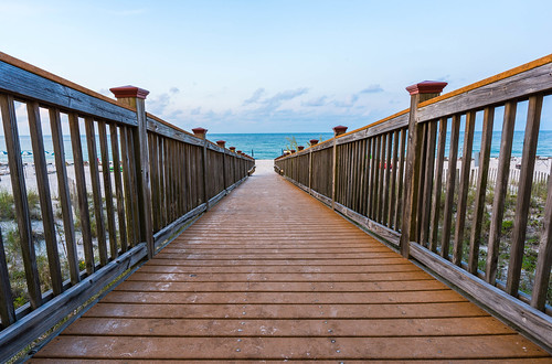 view sand color impressive pensacola pier water perspective florida beach ocean beautiful travel clouds boardwalk sky seascape vanishingpoint leadinglines perdidokey detail unitedstates us