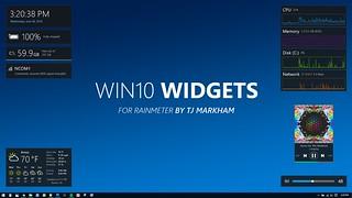 Win10 Widgets   by TJ Markham