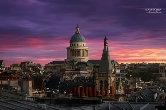 Panthéon & Eglise Saint-Severin, Paris