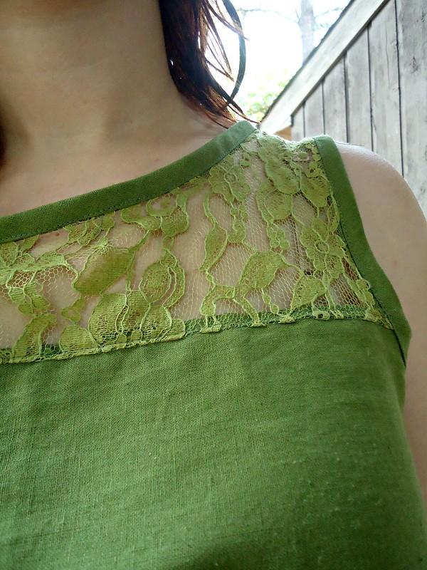 Dandelion shirt detail