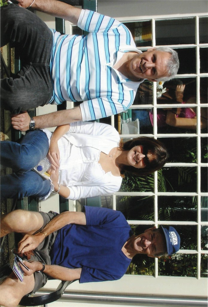 Seamus, Joy and Ron in Sheffield