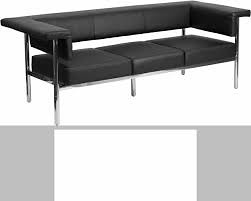 Stupendous Hercules Fusion Series Contemporary Black Leather Sofa Wit Gmtry Best Dining Table And Chair Ideas Images Gmtryco