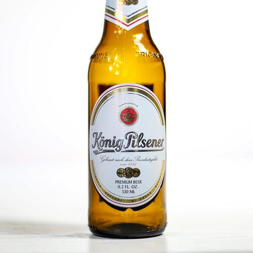 Pilsner Showdown Beers - König Brauerei - König Pilsener   by fourbrewers