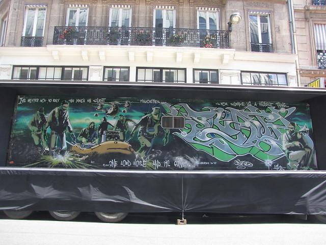 Silent Majority by Banksy & Inkie
