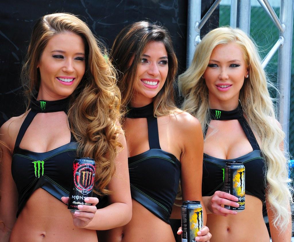 Monster Energy Drink Promo Girls 5