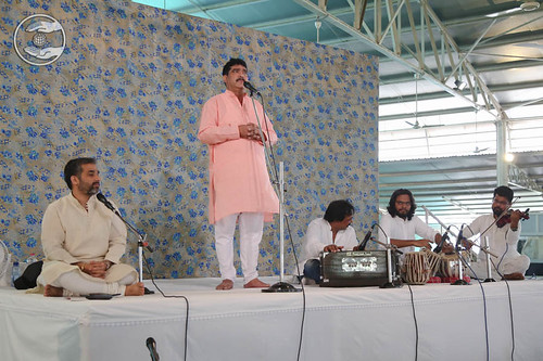 Devotional song by Ajay Zutshi from Budh Vihar, Delhi