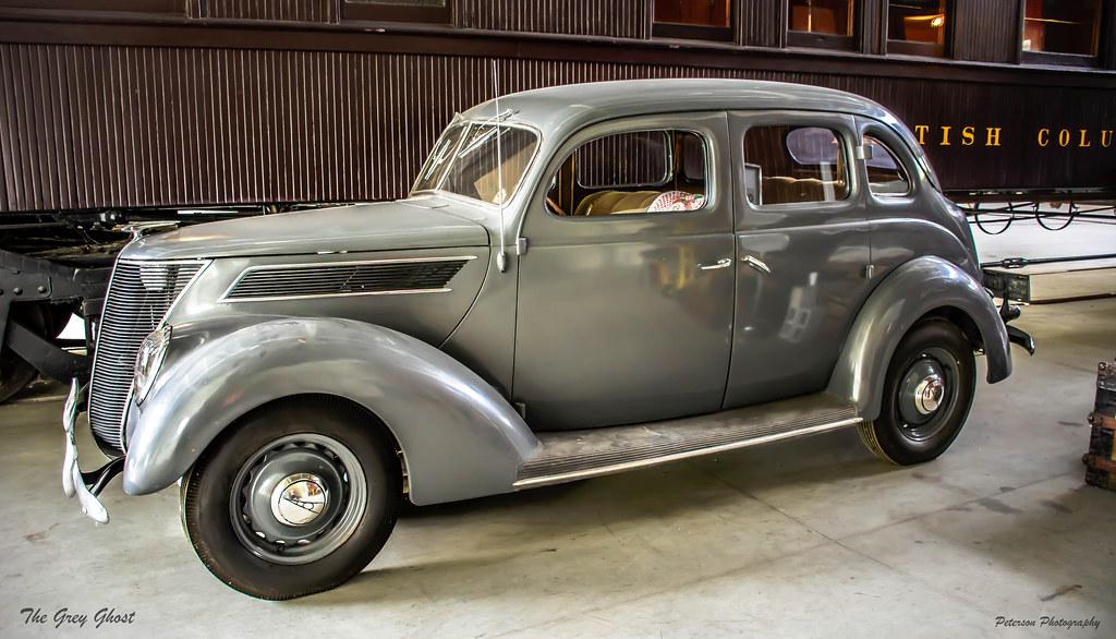 The Grey Ghost 1937 Ford V8 Sedan West Coast Railway