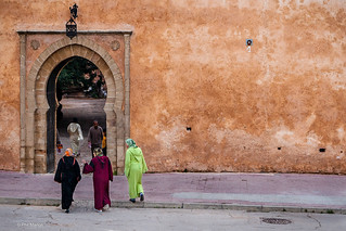 doorway to Kasbah of the Oudayas - Rabat, Morocco | by Phil Marion (176 million views - THANKS)