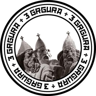 """Kula i manifestacija """"Turneja Tri Grgura"""" na Kazališnom trgu"""
