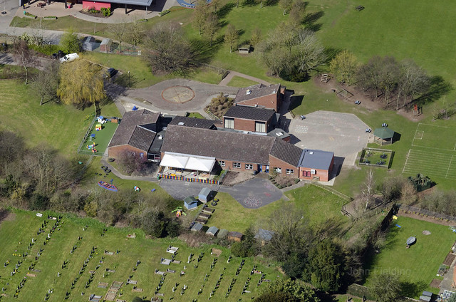 Aylsham aerial image