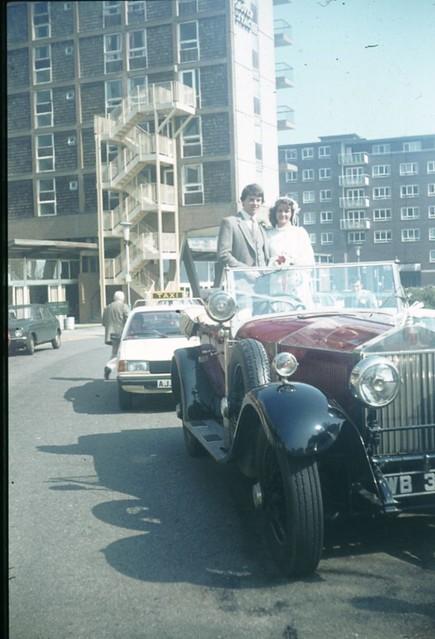 1980 - 09 - Joy, & Grahame in Rolls