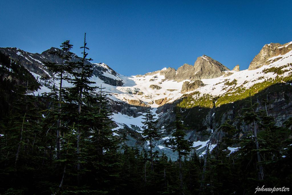 First view of Dark Peak