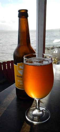 A delicious Scraggy Bay IPA beer at the Beachcomber Bar on Fanad Peninsula, Ireland