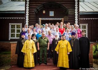 Божественная литургия в пос.Котово 340