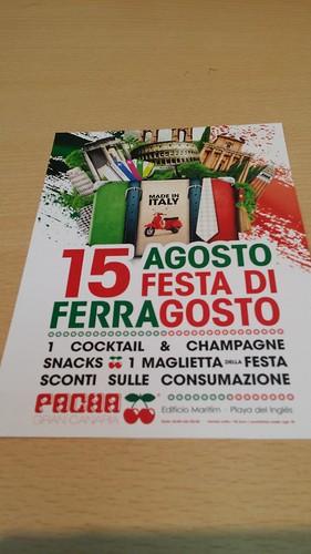 Ferragosto Italian Party @ Pacha Gran Canaria | by Concept 43