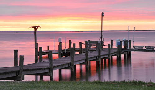 sunrise dock potomac northernneck virginia water