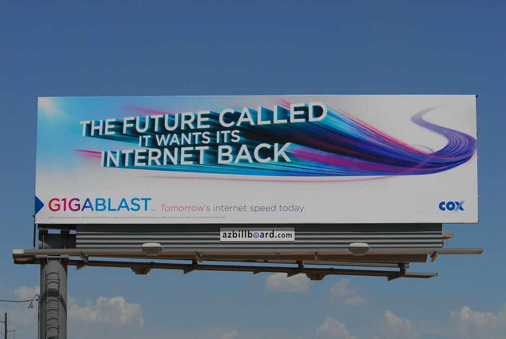 Cox Communications billboard - Santan Freeway Loop 202, Ch