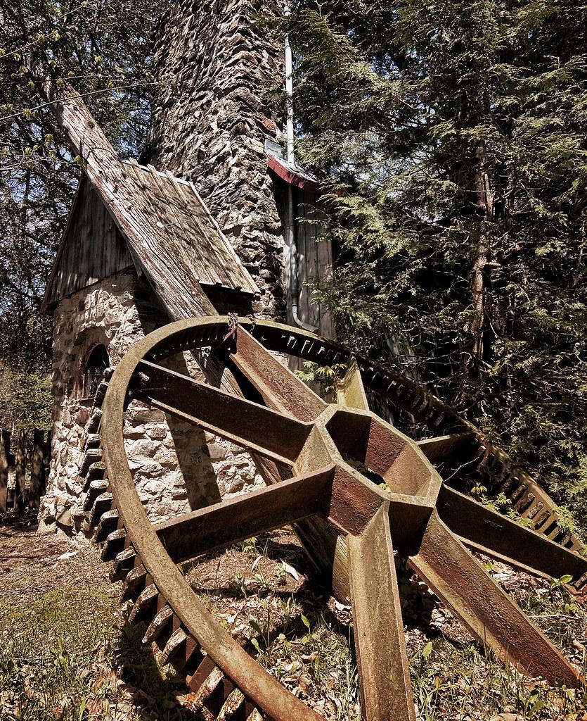 engrenage moulin la pierre