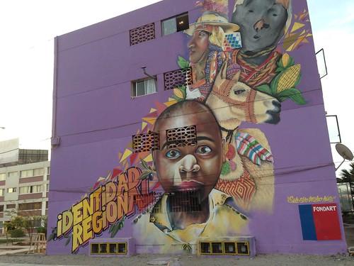 Identidad Regional Mural, Arica, Chile