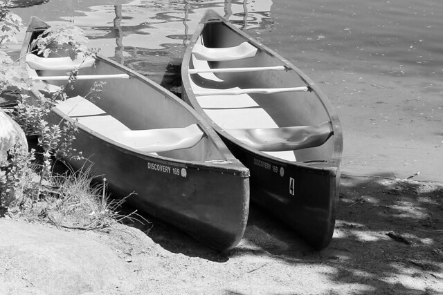 Canoes for two