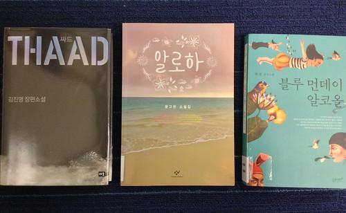 Korean books at Upper Riccarton Library