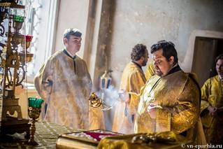 Литургия в Ильинском соборе 160