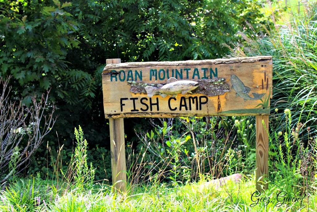 Fish Camp Sign