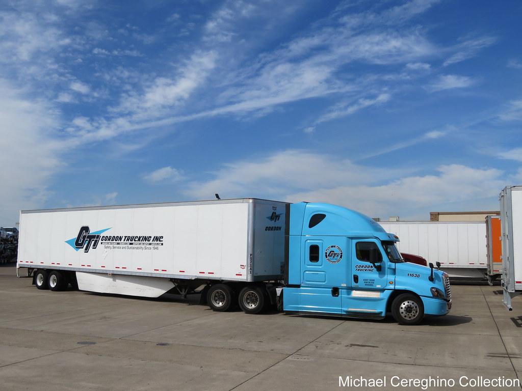 Gordon Trucking Freightliner Cascadia Evolution, Truck #11… | Flickr
