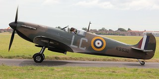 Supermarine Spitfire Mk.Ia (R9632) G-AIST Lee on Solent Airfield 2016 | by SupaSmokey