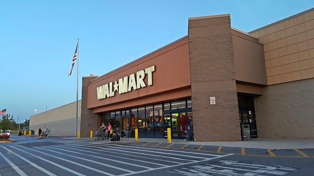 Walmart in Gettysburg, Pennsylvania
