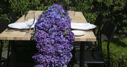 Hydrangeas-— Leanne and David Kesler, Floral Design Institute, Inc., in Portland, Ore. | by Flower Factor