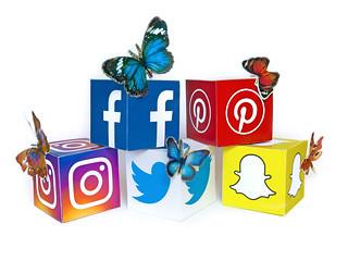 Social Media Butterflies