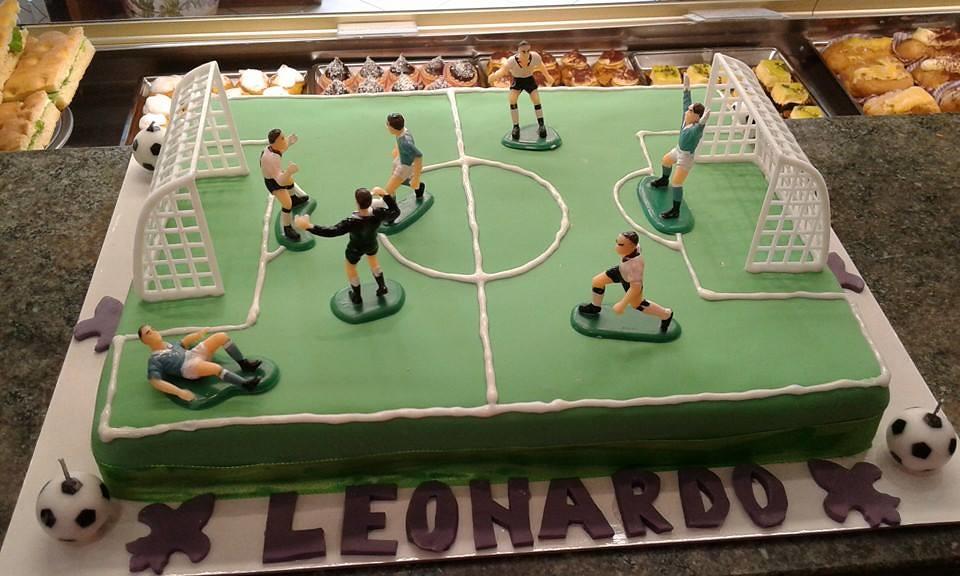 Torta Campo Da Calcio Pasticceria Bellucci Firenze Flickr