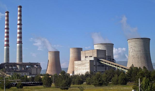 Steam power plant of Kardia - Kozani area (1)