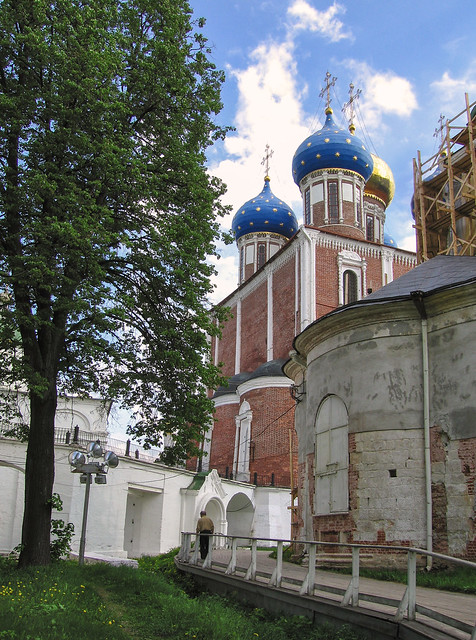 Dormition cathedral Solotcha monastery Ryazan