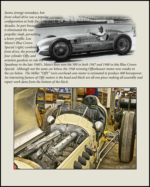Offenhauser Powered Indy Race Car