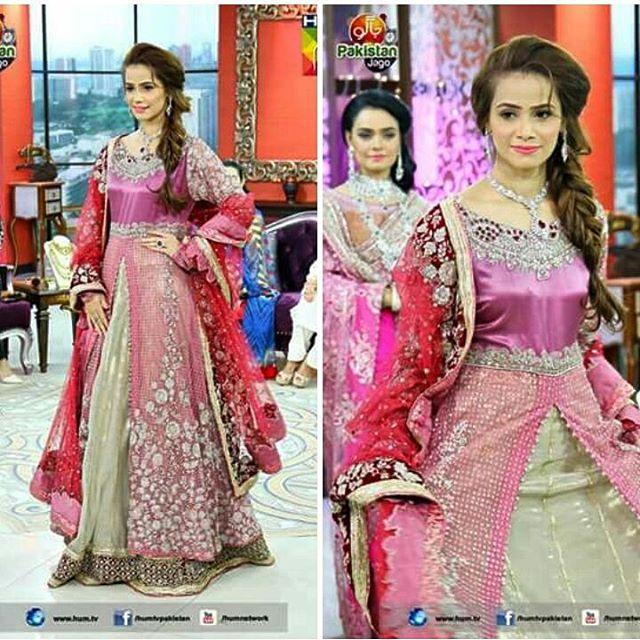 Prettiest Beena Hassan is today's morning show on HUM TV #…   Flickr